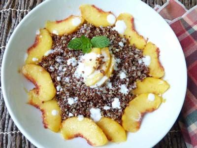 Quinoa for Breakfast - photo & recipe credit Deb